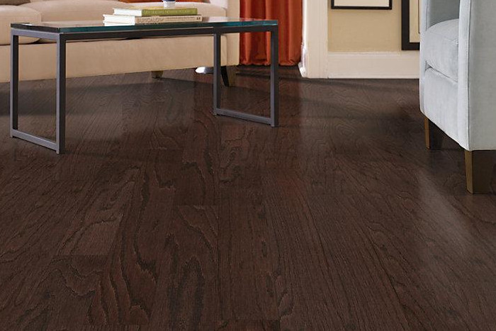 Dark Hardwood Floors Make A Dramatic Impact On Your