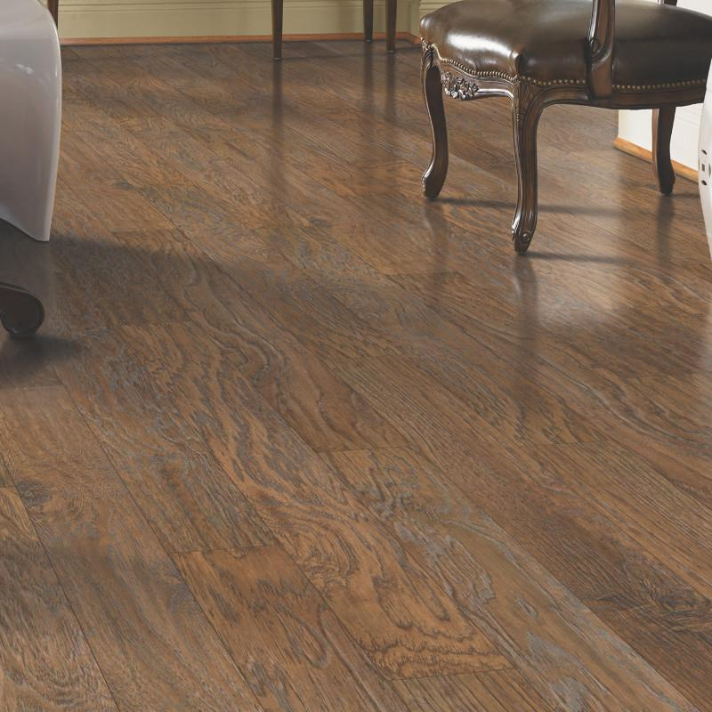 Mohawk Barrington Rustic Suede Hickory Onflooring