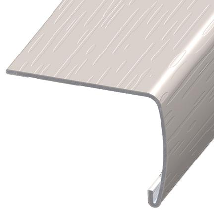 Versaedge Stair Nose 94 Inch Armstrong Solid White D4100