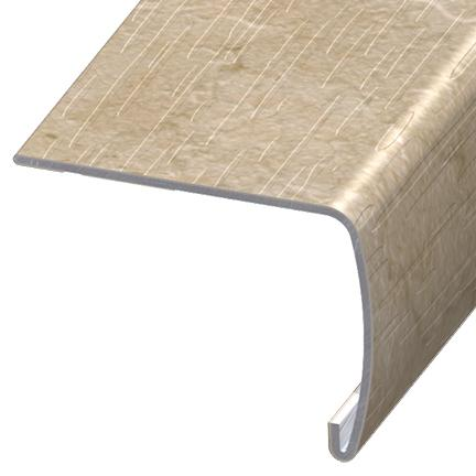 Versaedge Stair Nose 94 Inch Armstrong Sistine Bisque