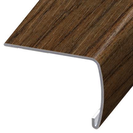 Delicieux Versaedge Stair Nose 94 INCH Congoleum Walnut Auburn TV051
