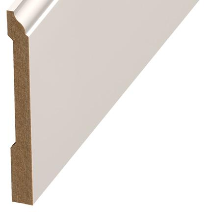 Versatrim Colonial Extra Tall Wall Base 94 Inch White Paint Grade