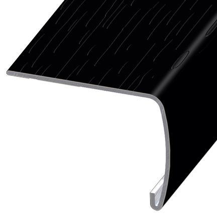 Versaedge Stair Nose 94 Inch Kronoswiss Urban Black