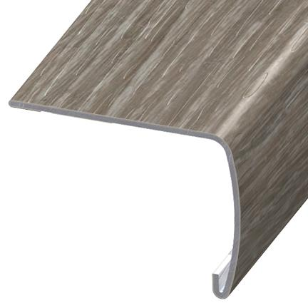 Versaedge Stair Nose 94 Inch Armstrong Parallel Argent Crv